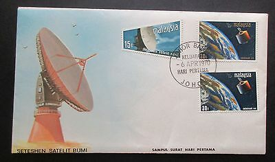 Malaysia ..1970 Satellite.. First Day Cover....with Information Booklet