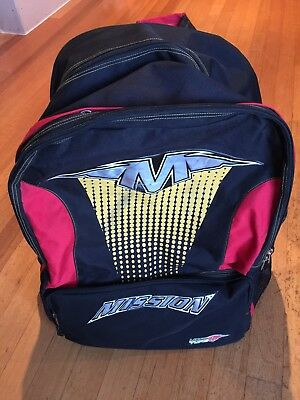Mission Type M Large Backpack Bag Ice Inline Hockey