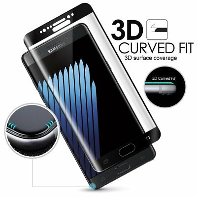 Samsung Galaxy S8 S7 Edge Curved 9H Gorilla Glass Tempered 3D Screen Protector