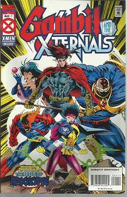 Gambit And The Xternals No 1 March 1995 Marvel Comic