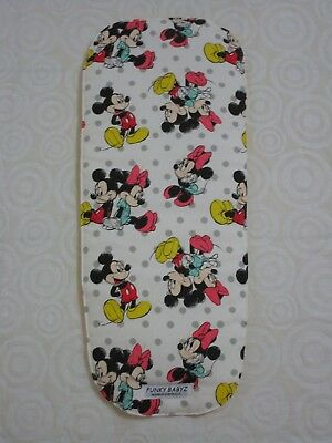 Bugaboo bee bassinet liner-Mickey,Minnie mouse-Handmade