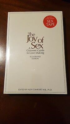 The Joy of Sex Illustrated Edition Hardback Book Alex Comfort Brand New Sealed
