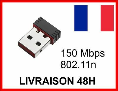 MINI CLE WIFI USB Adaptateur Sans Fil Dongle Réseau Wireless 150Mbps 802.11n/g/b