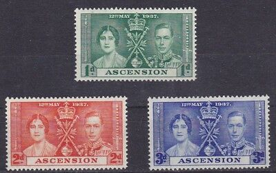Ascension #37-39 Mh Coronation Of King George Vi