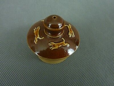 Doulton Lambeth Harvest Ware Spare Lid Teapot or Sugar Basin