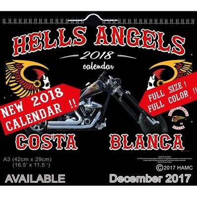 49 Hells Angels Support 81 Kalender Limited Edition 2018 Big Red Machine 666