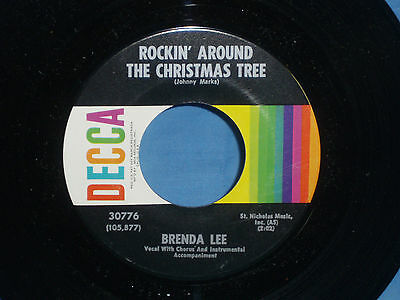 Brenda Lee: Rockin' Around the Christmas Tree / Papa Noel [Unplayed Copy]