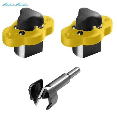 Magswitch MagJig 95 (Set of 2) + Magswitch 30mm Forstner Bit