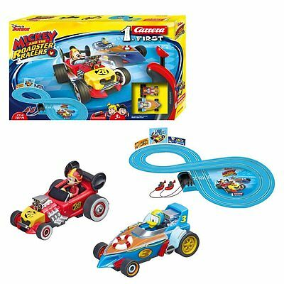 NEW Carrera Mickey Mouse and The First Roadster Racers