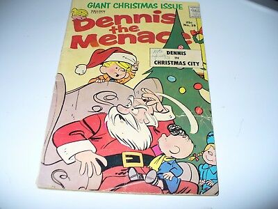 DENNIS  THE  MENACE  GIANT  XMAS  ISSUE  -  # 19  -  WINTER  1963 - Reading Copy
