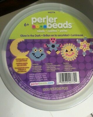 Perler beads Bucket 5500 Pieces NEW SEALED
