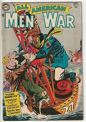 All American Men Of War #15,dc,1954,from A Nice War Collection
