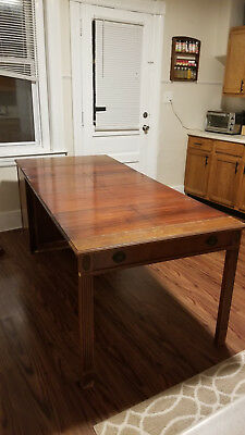 Watertown Table Slide Co. Extendable Table