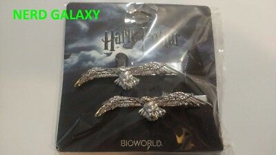 Harry Potter Hedwig Hair Barrette Clips Set! NEW! LICENSED! FREE SHIPPING!