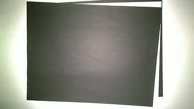 "2 Sheets Black Carbon Paper 8 1/2"" x 11"" Good for Tracing,Stenciling,Office"