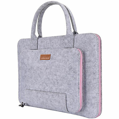 "17.3-Inch Laptop Sleeve Felt Notebook Case Protective Bag 17"" Acer Asus Dell"