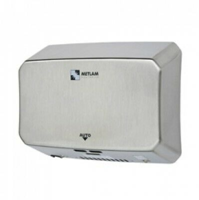 Metlam Ecoslender-05 Slimline Eco Auto Operation Hand Dryer Silver