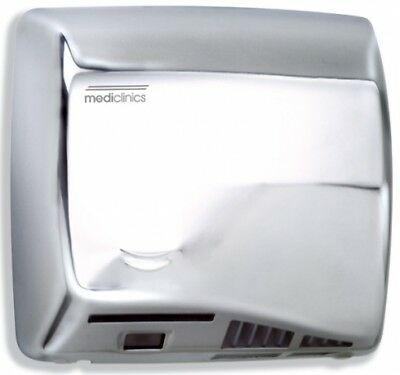 Mediclinics Speedflow M06ac Bright Polished Stainless Steel Hand Dryer