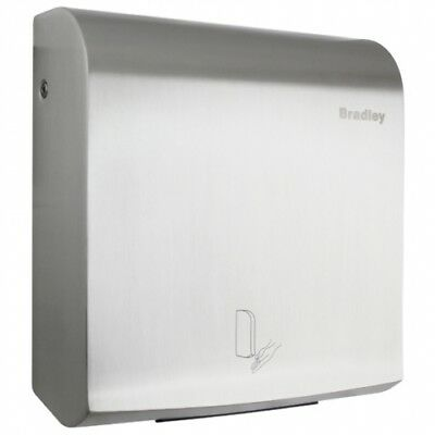 Bradley 220-301 Automatic Hand Dryer Stainless Steel in Satin Stainless Steel