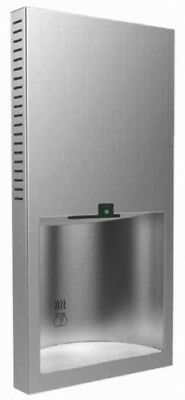Bobrick B3725 Hand Dryer Recessed Automatic in Satin Stainless Steel