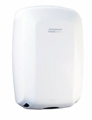 Mediclinics Machflow M09a High Speed Hand Dryer White Epoxy