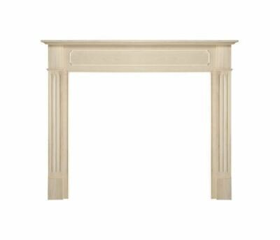 "The Williamsburg 56"" Fireplace Mantel - Unfinished"