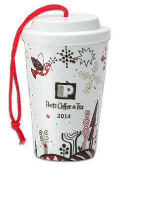 Peet's Coffee 2014 Resin Ornament