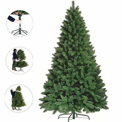 6ft 7ft Christmas Tree Luxury Boxed Traditional Forest Green Imperial Fir Grande