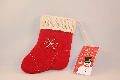 Caribou Coffee 2015 Handmade Stocking Ornament