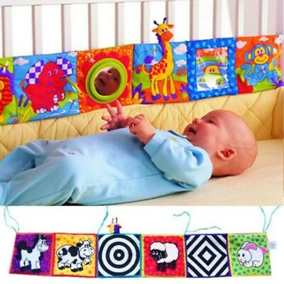 US Kid Baby Intelligence development Cloth Bed Cognize Book Educational Toy gift