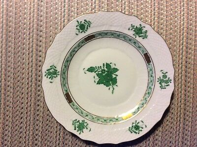 Herend - Chinese Bouquet - Green - Salad Plate - #1518 - 12 Available -