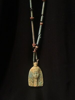 Ancient Egyptian Necklace Pottery Faience Looks Old!