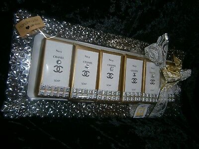 XMAS GIFT Chanel No.5  -DELUXE SOAP-  1 KILO!!!   x 6 SOAPS Gift Packed