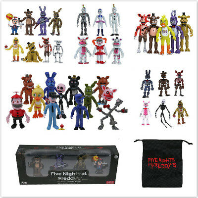FNAF Five Nights At Freddy's Bonnie Chica Action Figure Toy Kids Christmas Gift