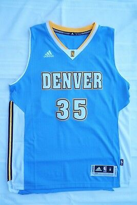 NWOT Kenneth Faried Denver Nuggets Adidas NBA Jersey Blue Men s Size M  Carmelo 48e46c2bf