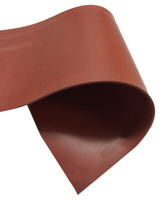 Red Silicone Rubber Sheet (Plate) - 3mm x 500mm x 500mm