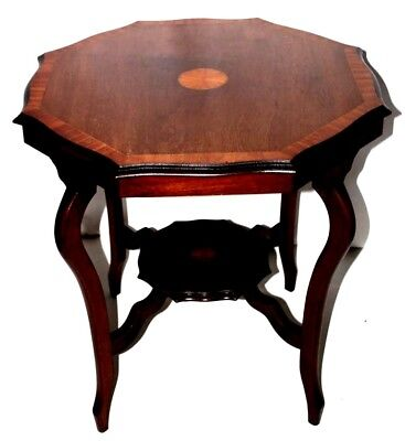 Edwardian Inlaid Mahogany Occasional Table - FREE Shipping [PL4103]