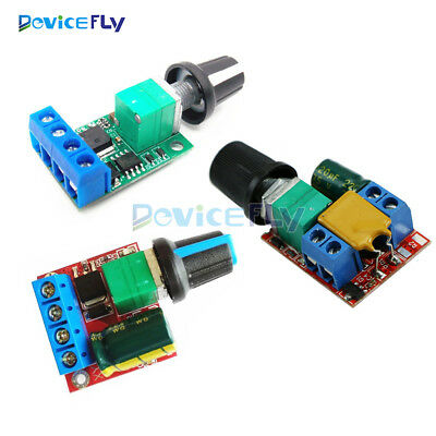 Mini 5A/10A Motor PWM Speed Controller 3V/4.5V-35V Control Switch LED Dimmer