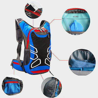 15L Cycling Bicycle Large Backpack Road Mountain Bike Sports Hiking Backpack New