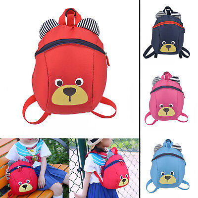 Kids Toddler Walking Safety Harness Backpack Security Strap Bag with Reins UK