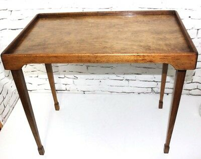 Antique Beech Folding Tea Table - FREE Shipping [PL4109]