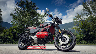 BMW K 100 RS Scrambler Handmade Umbau GS Custom Bike