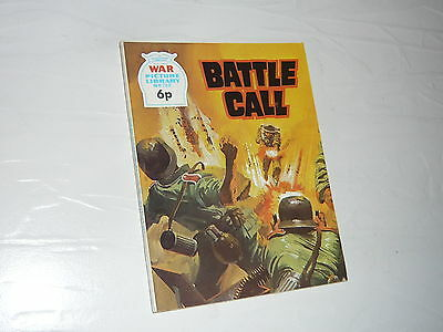 War Picture Library Comic Magazine No708 Battle Call Italy Me109 Spitfire WW2