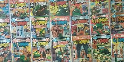 GI Combat (212-232) Lot Of (21) All VF/NM