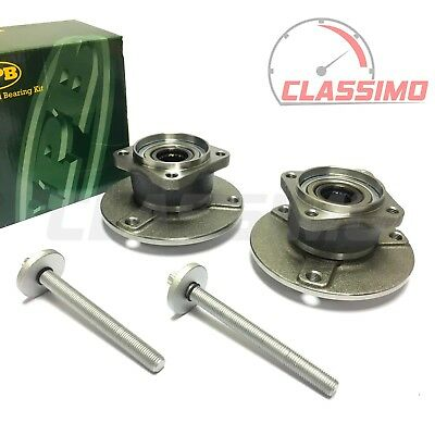 Rear Wheel Bearing Hub Pair for SMART CITY + FOR TWO + ROADSTER - 1998 to 2007