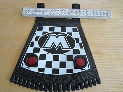 Moto Universal motorcycle mudguard rubber flap mud guard NOS 1e