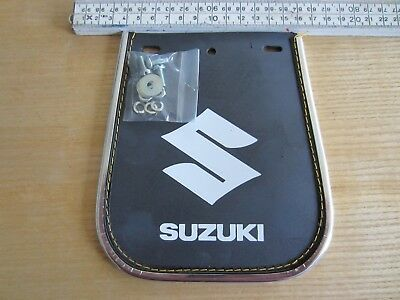 Suzuki Universal motorcycle mudguard rubber flap mud guard NOS 1a