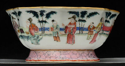 An old Chinese porcelain bowl