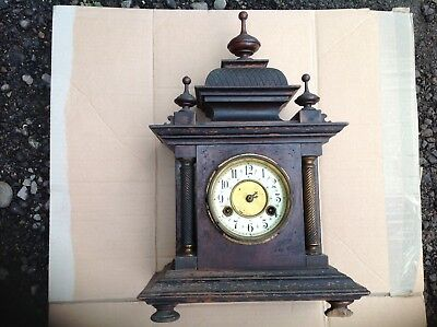 Very Rare Find possibly a Junghans 1800's Mantle Clock For Resteration