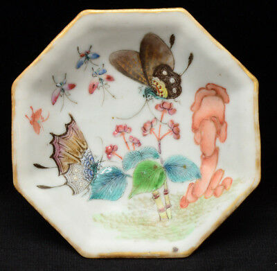 An old Chinese porcelain bowl / plate / tazza